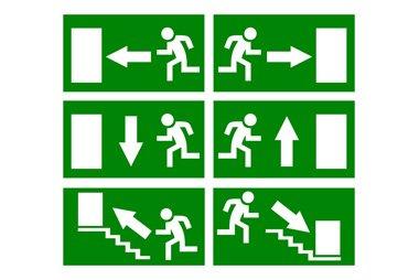 Sistemi evacuazione del personale treviso ca mon for Cartelli antincendio dwg